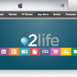 Our 2life app featured on the App Store